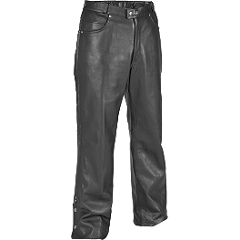 River Road Pueblo Cool Leather Overpants - River Road Bravado II Leather Overpants