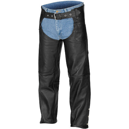 River Road Plain Leather Chap - Main