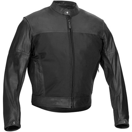 River Road Pecos Leather And Mesh Jacket - Main