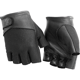 River Road Pecos Shorty Mesh Gloves - River Road Tucson Shorty Leather Gloves