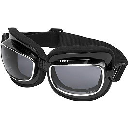 River Road Rambler Goggles - Bobster Bugeye II Interchangeable Goggles