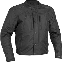 River Road Raider Jacket - TourMaster Raven Jacket