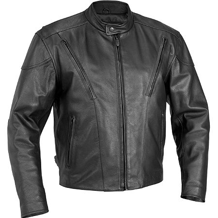 River Road Race Vented Leather Jacket - Main