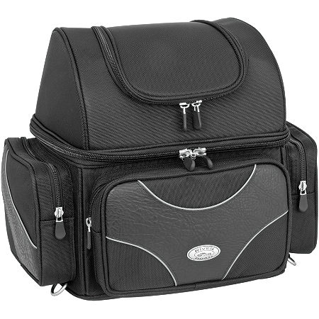 River Road Spectrum Series Textile Sissy Bar Bag - Main