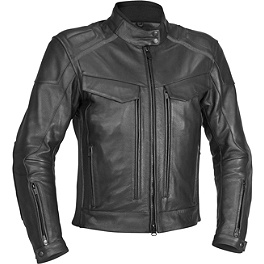 River Road Scout Jacket - River Road Race Vented Leather Jacket