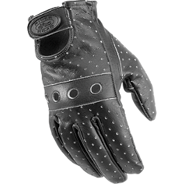 River Road Swindler Distressed Gloves - River Road Sturgis Leather Gloves