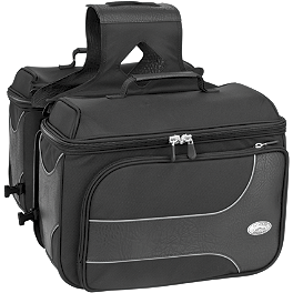 River Road Spectrum Series Box Textile Saddlebags - All American Rider Box-Style Saddlebags - Detachable
