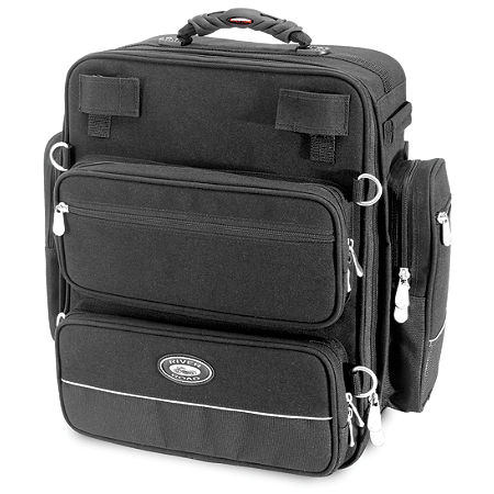 River Road Spectrum Series Sissy Bar Tall Trunk Bag - Main