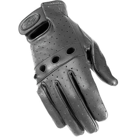 River Road Sturgis Leather Gloves - Main