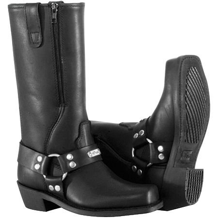 River Road Women's Square Toe Zip Harness Boots - Main