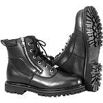 River Road Side-Zip Highway Boots -  Military Approved Motorcycle Jackets & Vests