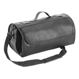 River Road Momentum Series Travel Case - River Road Twin Iron Shorty Leather Gloves