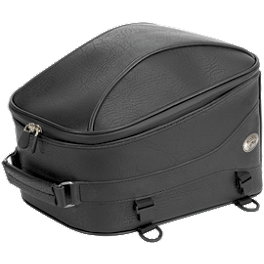 River Road Momentum Series Tail Pack - River Road Momentum Series Large Slant Saddlebags With Quick Release Straps