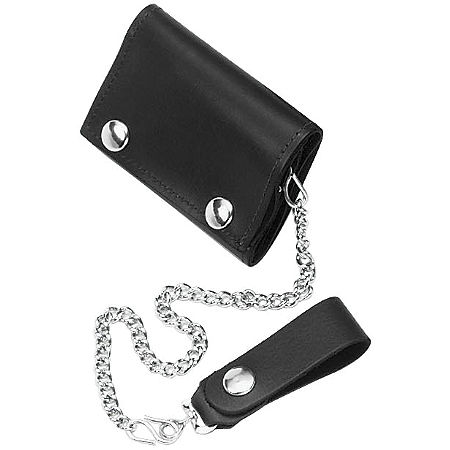 River Road Chain Trifold Wallet - Main