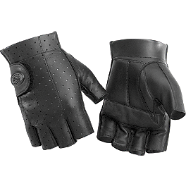 River Road Tucson Shorty Leather Gloves - River Road Twin Iron Shorty Leather Gloves