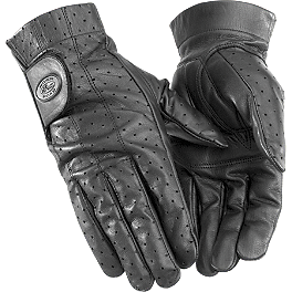 River Road Tucson Leather Gloves - River Road Sturgis Leather Gloves