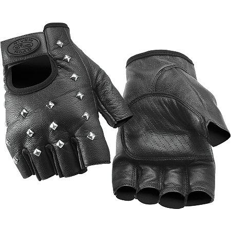 River Road Vegas Shorty Leather Gloves - Main