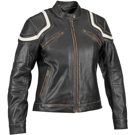 River Road Women's Babe Vintage Leather Jacket - Main