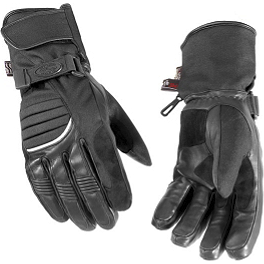 River Road Women's Cheyenne Gloves - 1998 Honda CB750 - Nighthawk Kuryakyn Lever Set - Zombie