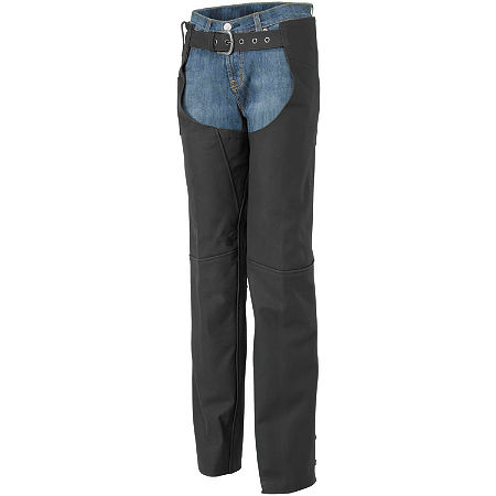River Road Women's Cinder Leather Chaps - Main