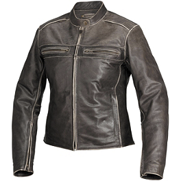 River Road Women's Drifter Leather Jacket - River Road Women's Scout Jacket