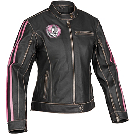 River Road Women's Grateful Dead Steal Your Face Jacket - Alpinestars Women's Vika WP Boots