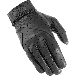 River Road Women's Mesa Perforated Gloves - Power Trip Open Road Gloves