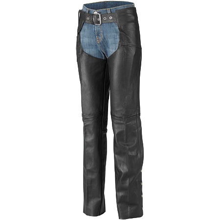 River Road Women's Plain Leather Chaps - Main