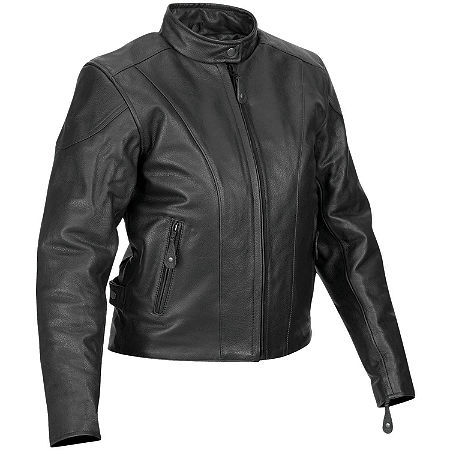 River Road Women's Race Leather Jacket - Main