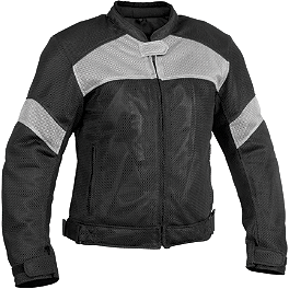River Road Women's Sedona Mesh Jacket - AGVSport Women's Xena Vented Textile Jacket