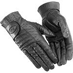 River Road Women's Tucson Leather Gloves - River Road Shorty Cruiser Gloves