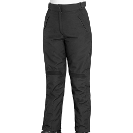 River Road Women's Scout Tex Pants - Cortech Super 2.0 12-Liter Tank Bag