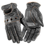 River Road Women's Outlaw Vintage Gloves - River Road Cruiser Riding Gear