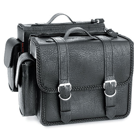 River Road Quantum Series Zip Off & Quick Release Compact Saddlebags - Main