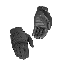 River Road Zephyr TouchTec Gloves - River Road Twin Iron Leather Gloves
