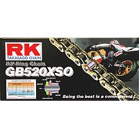 RK 520 GBXSO X-Ring Gold Race Chain - 120 Links