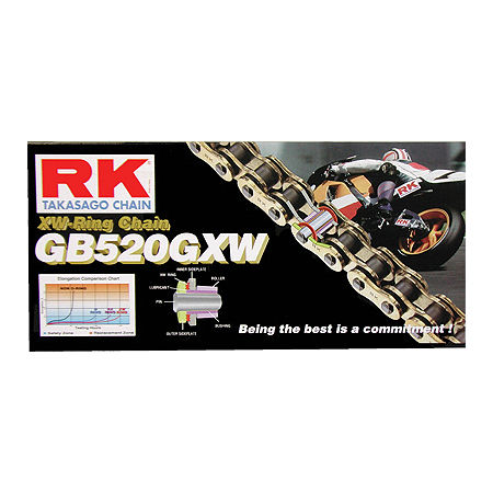 RK 520 GBGXW Series Gold Chain - 120 Links - Main