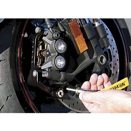 RoadLoK XR Anti-Theft System - Black - 2011 Suzuki GSX1300R - Hayabusa RoadLoK XR Anti-Theft System - Gold