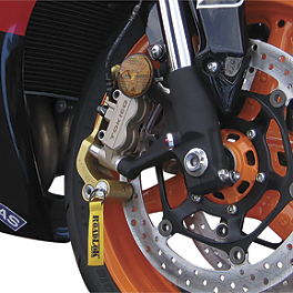 RoadLoK XR Anti-Theft System - Gold - 2011 Suzuki GSX1300R - Hayabusa RoadLoK XR Anti-Theft System - Black