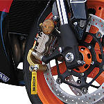 RoadLoK XR Anti-Theft System - Gold - Triumph Dirt Bike Security
