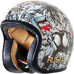 Rockhard American Classic Helmet - Hustler Volume 2 - Motorcycle Helmets and Accessories