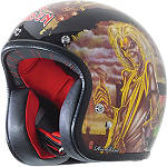 Rockhard American Classic Helmet - Iron Maiden - Rockhard Motorcycle Helmets and Accessories