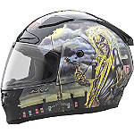 Rockhard Full Face Helmet - Iron Maiden - Rockhard Full Face Motorcycle Helmets