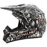 2013 Rockhard MX Helmet - Hustler Volume 2 - Rockhard Dirt Bike Off Road Helmets