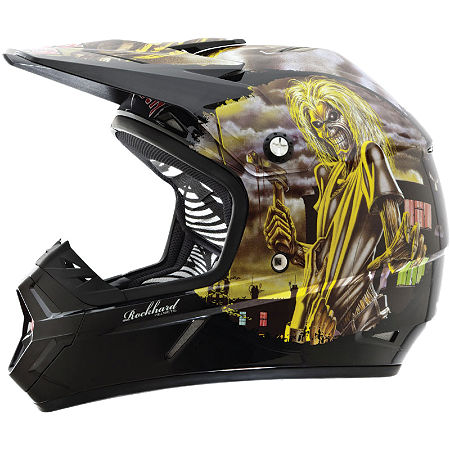 2013 Rockhard MX Helmet - Iron Maiden - Main