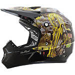 2013 Rockhard MX Helmet - Iron Maiden - Utility ATV Off Road Helmets
