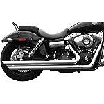 Rush Long Series Full System - Slash Down - Rush Mufflers Cruiser Exhaust