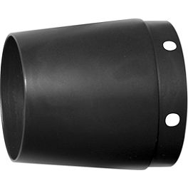 Rush Taper Style Muffler Tip - Vance & Hines Classic Turn Down Slip-On Replacement End Cap O-Ring