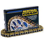Renthal 428 R1 Chain - 130 Links - Yamaha 2015-TW200--RENTHAL-R1-428-CHAIN-130-LINKS Renthal Dirt Bike