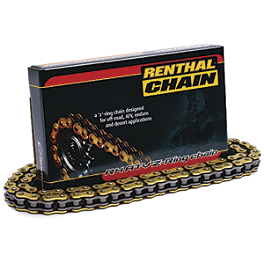 Renthal 520 R4 ATV Z-Ring Chain - 100 Links - 2000 Kawasaki LAKOTA 300 Master Link 520 ATV X-Ring - Clip Style